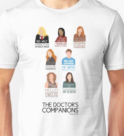 Doctor Who |Companions (alternate version) Unisex T-Shirt
