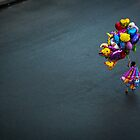 The Balloon Seller by Zati