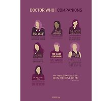 Doctor Who | Companions Photographic Print