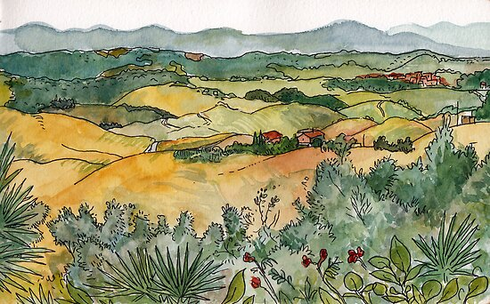 Cecina's Valley by Adolfo Arranz