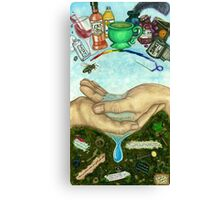 10 of Cups Tarot Card Canvas Print