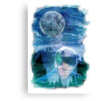 Castiel Lost In The Wilderness Canvas Print