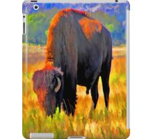 Painted Buffalo iPad Case iPad Case/Skin