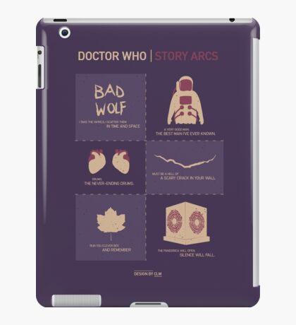 Doctor Who |Story Arcs iPad Case/Skin