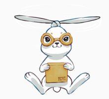 Postal Bunny Kids Tee