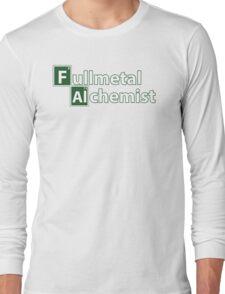 fullmetal alchemist breaking bad  Long Sleeve T-Shirt