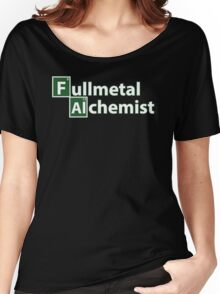 fullmetal alchemist breaking bad  Women's Relaxed Fit T-Shirt