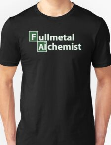 fullmetal alchemist breaking bad  Unisex T-Shirt