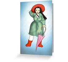 Aerodynamic - The Lilypad Lady Greeting Card