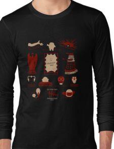 Doctor Who | Aliens & Villains Long Sleeve T-Shirt