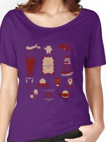 Doctor Who   Aliens & Villains Women's Relaxed Fit T-Shirt