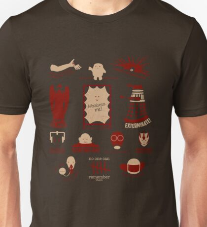 Doctor Who | Aliens & Villains Unisex T-Shirt