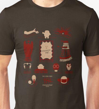 Doctor Who   Aliens & Villains Unisex T-Shirt