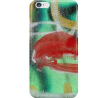 Red Kiss iPhone Case/Skin