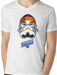 The KnicksTape Strikes Back!! (White) Mens V-Neck T-Shirt