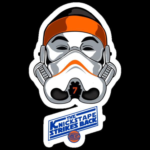 The KnicksTape Strikes Back!! (White) by mdoydora