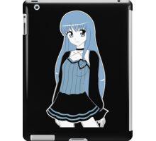 Monochrome Girl iPad Case/Skin