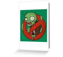 Zombie Buster Greeting Card