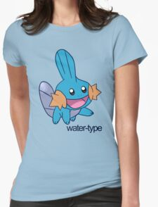 Pokemon Water-types - Mudkip Womens Fitted T-Shirt
