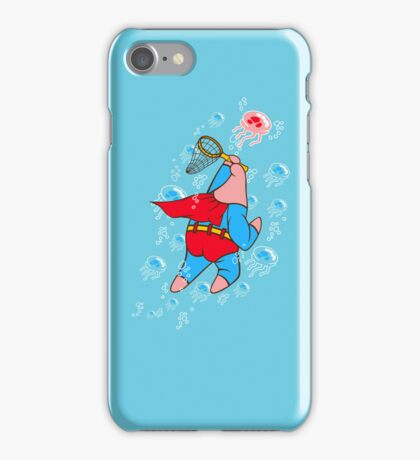 Superstar Jelly-fishing! iPhone Case/Skin