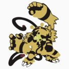 【16300+ views】Pokemon  Elekid>Electabuzz>Electivire by Ruo7in