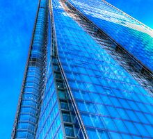 The Blue Shard London by DavidHornchurch