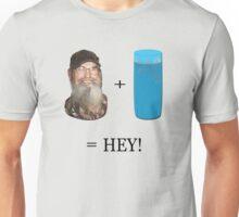 Si + Tea Glass = HEY!  Unisex T-Shirt