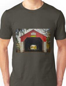 Uhlerstown Covered Bridge IV Unisex T-Shirt