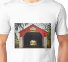 Uhlerstown Covered Bridge IV Unisex T-Shirt