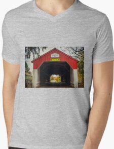 Uhlerstown Covered Bridge IV Mens V-Neck T-Shirt
