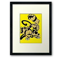 【16300+ views】Pokemon  Elekid>Electabuzz>Electivire Framed Print