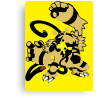 【16300+ views】Pokemon  Elekid>Electabuzz>Electivire Canvas Print