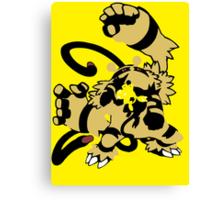 【16300+ views】Pokemon  Elekid>Electabuzz>Electivire Canvas Print