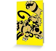 【16300+ views】Pokemon  Elekid>Electabuzz>Electivire Greeting Card