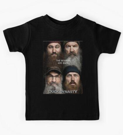 Duck Dynasty Beards Kids Tee