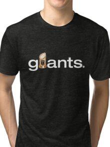 San Francisco Giants World Series Trophy (adult size) Tri-blend T-Shirt