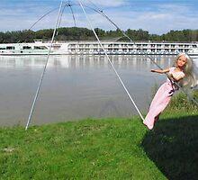 Scenic Sapphire on the Danube by VeronicaPurple