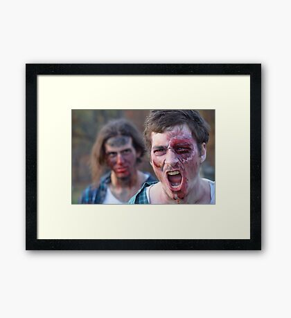 ZOMBIES ~ series Framed Print