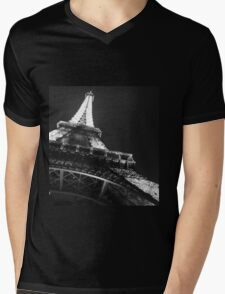 Eiffel Tower Mens V-Neck T-Shirt
