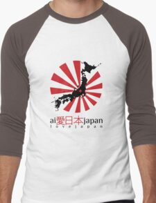 Japan Men's Baseball ¾ T-Shirt