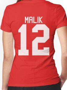 Zayn Malik jersey (white text) Women's Fitted V-Neck T-Shirt
