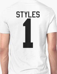 Harry Styles jersey (black text) Unisex T-Shirt