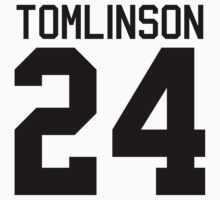 Louis Tomlinson jersey (black text) by sstilinski