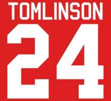 Louis Tomlinson jersey (white text) by sstilinski