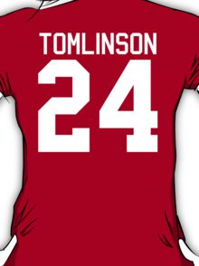 Louis Tomlinson jersey (white text) T-Shirt