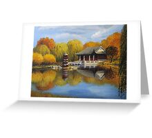 Chinese Garden in Berlin Greeting Card