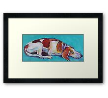 Guard dog!! Framed Print