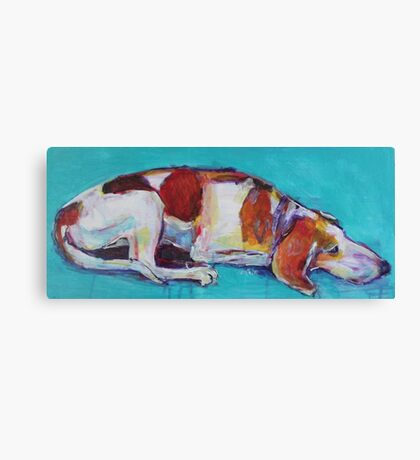 Guard dog!! Canvas Print
