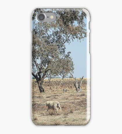 Tilpa Louth area, Outback NSW iPhone Case/Skin