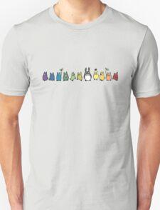 Rainbow Totoro T-Shirt